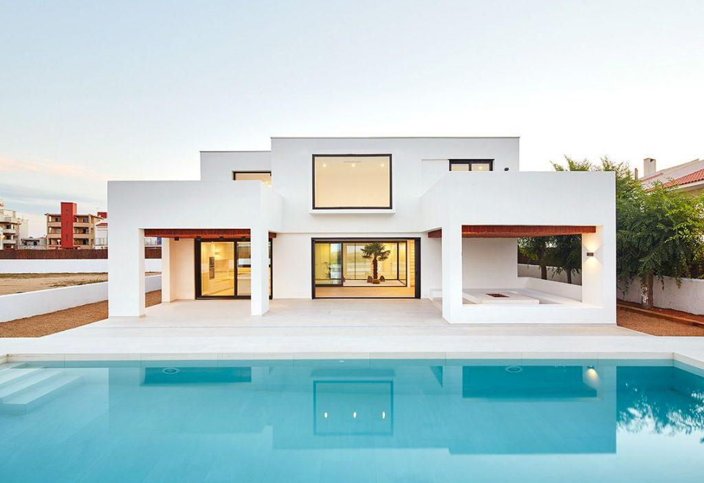 Casas de dos piso - Estilo mediterráneo