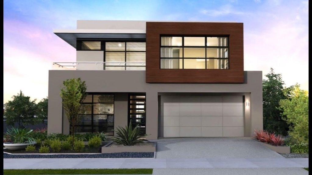 Casas de dos pisos - Estilo moderno