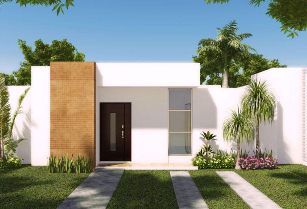 Fachadas con líneas puras y sencillas - MA Arquitectura