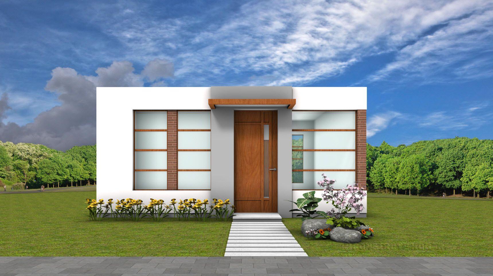 Las mejores fachadas de casas pequeñas y bonitas - MA Arquitectura